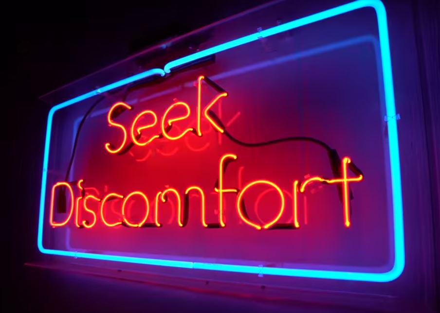 Seek Discomfort